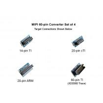 MIPI 60-pin JTAG Pin Converter Kit of 4 - BH-ADP-60e_MIPI-KIT4
