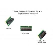 cTI 20-pin JTAG Pin Converter Kit of 3 - BH-ADP-20e-cTI-KIT3